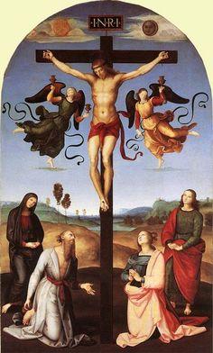 Raffaello Sanzio - Crocifissione