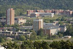 Arial View of Binghamton University @Christine Ballisty Ballisty cozzi - is this the Christine from Binghamton