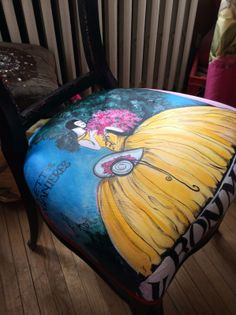 Hand Painted Chairs | Crafts | Pinterest | Hand painted chairs Tricia guild and Vintage chairs & Hand Painted Chairs | Crafts | Pinterest | Hand painted chairs ...