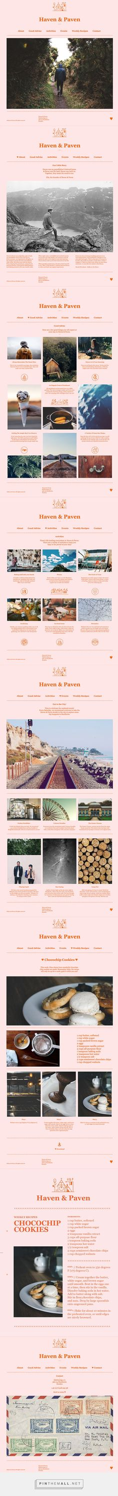 Haven & Paven on Behance - created via http://pinthemall.net