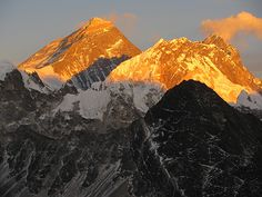 Mount Everest, one of the Seven Summits