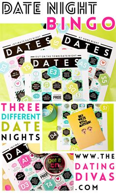 3 DIFFERENT Date Nights planned for me...Thank you! www.TheDatingDivas.com