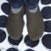 Hausschuhe selbstgestrickt, Stricken, gratis Anleitung, einfach, Wolle, warme Füße, handmade