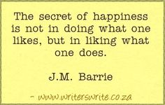 Quotable - J.M Barrie