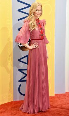CMA Awards 2016: Best Dresses of the Night - Nicole Kidman in Gucci