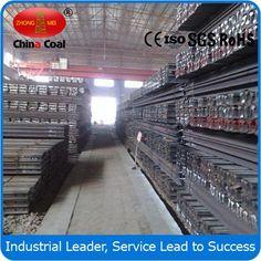 chinacoal03 55Q Light Steel Rail 30kg Steel Products 5m 12m Light