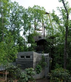 Summit Bechtel National Scout Reserve | Nelson Byrd Woltz Barn Garage, Treehouses, Cabins In The Woods, Garages, Things To Know, Landscape Design, Sustainability, Restoration, Buildings
