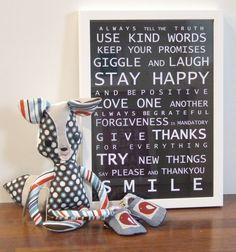 Use Kind Words...
