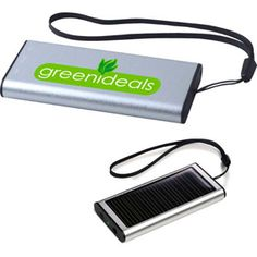 Emergency power for your cell phone. Recharge by USB connection and solar cell. Includes plugs for variety of MP3 playersIncludes plugs for cell phone: BlackBerry and Android devices. Materials: Plastic