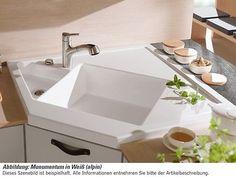 Keramikeckspüle Solo Eck | Hamburg, Keramik und Küche