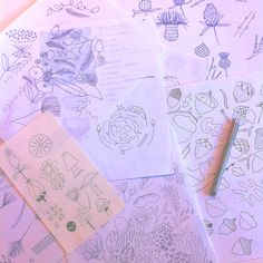 Well Nested Kids & Baby Bedding Doodles