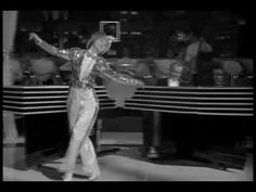 """The BROADWAY MELODY OF 1936, MGM, 1935. """"Broadway Rhythm"""": My favorite ELEANOR POWELL dance number. Deco style to burn. Larger than life. Iconic. Skip ahead to 1:50 to bypass the irrelevant dramatics. Frances Langford introduces in a stunning black mannish outfit, a moment of lesbian iconography. I've watched this scene many many times. When people speak of Hollywood with the profoundest affection it's because of things like this. Stuff of dreams. (KevinR@Ky)"""