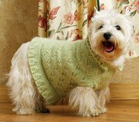 Party Dress - in the book Dogs in Knit - which I have!