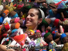 Dolls for Charities---this is a great site that lists lots of free doll patterns and many charities to donate them!