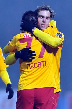 Galatasaray 2 - Gaziantepspor 1 02.04.2012 | Necati Ates scored in his debut for Galatasaray