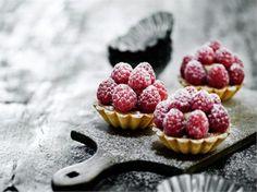 Raspberry tarte or hindbærtærter in Danish, recipe by Mette Blomsterberg