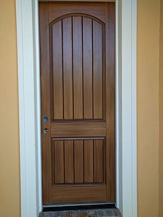 Paint A Door To Look Like Wood