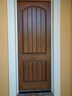 paint a door to look like wood