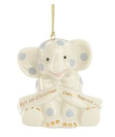 6 Baby's First Christmas Ornament Ideas | Celebrate your little one's first holiday season with a memorable keepsake for the tree.