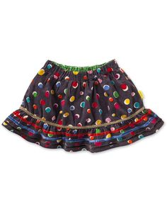 #Oilily Suzette Messy Dot Print Skirt - BABY  at #Ollyseven.com
