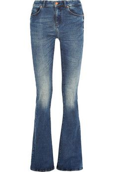 MiH Jeans The Bodycon Marrakesh mid-rise flared jeans | NET-A-PORTER
