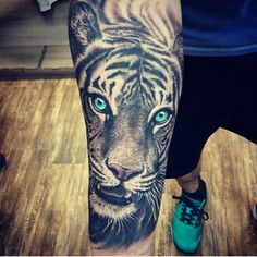 #tiger #tattoo