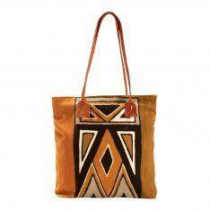African Mudcloth Shoulder Bag
