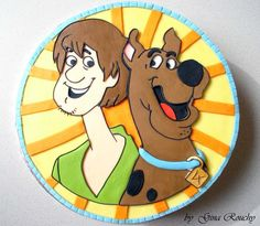 Scooby Cake by *ginas-cakes on deviantART