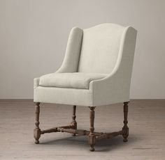 19th C. Slope Arm Dining Chair