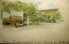 Ramsdale Valley, Scarborough, Yorkshire: Edwardian Postcards Scarborough England, Yorkshire, Postcards, Painting, Art, Art Background, Painting Art, Kunst, Paintings