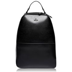 Buy your VIVIENNE WESTWOOD ACCESSORIES - Kent Backpack from Urban Garmz and find other great designer menswear brands with discounts up to off. No discount codes needed for our collection of men's fashion clothing! Mens Designer Accessories, Hardware Components, Men's Fashion Brands, Acid Wash Jeans, Polo T Shirts, Mens Clothing Styles, Vivienne Westwood, Shoulder Straps, Leather Backpack