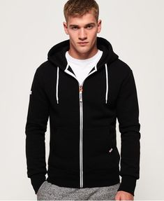 ab746752f34 Superdry LA Athletic Zip Hoodie - Men s Hoodies