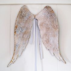 Image of Rustic Angel Wings. For my permanent house someday...