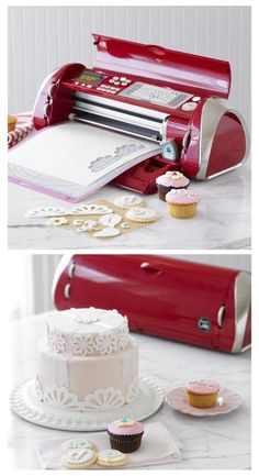 Funny pictures about A Printer For Decorating Cakes. Oh, and cool pics about A Printer For Decorating Cakes. Also, A Printer For Decorating Cakes photos. Fondant Cookies, Cupcakes, Cake Decorating Tutorials, Decorating Cakes, Cricut Cake, Cake Machine, Cupcake Images, Cake Supplies, Cake Business