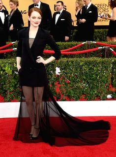 Emma Stone in Dior!