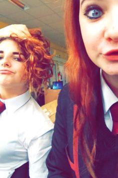 #lauren #me #school #ginger