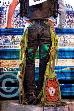 Boots Chaps and Spurs IV, cowboy, boots chaps spurs 8 x 12  fine art color photograph. $30.00, via Etsy.