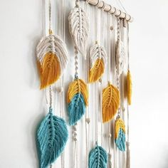 macrame Art and craft is part of Macrame diy - Visit the post for Macrame Wall Hanging Diy, Macrame Art, Macrame Design, Macrame Projects, Macrame Knots, Wall Hanging Crafts, Hanging Decorations, Homemade Wall Decorations, Wall Decor Crafts