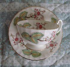 Aynsley Bone China England Vintage Tea Cup and Saucer