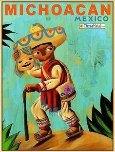 Estampa de Mexico.