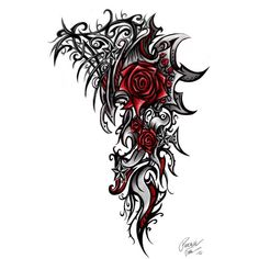 Celtic_tattoo_132.jpg (JPEG-Grafik, 600×992 Pixel) - Skaliert (67%) ❤ liked on Polyvore featuring accessories, body art, tattoos and backgrounds