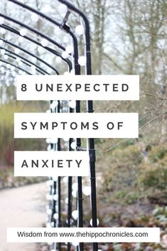 Symptoms of anxiety, how to know if you are suffering with anxiety and what to do about it.