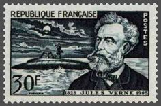 Jules Gabriel Verne (1828 – 1905) was a French novelist, poet, and playwright best known for his adventure novels and his profound influence on the literary genre of science fiction. His novels include Journey to the Center of the Earth, Twenty Thousand Leagues Under the Sea, and Around the World in Eighty Days. rnb**