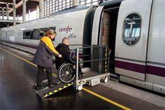 Adif mejora la accesibilidad de la estación de Segovia