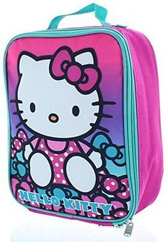 Hello Kitty Insulated Lunch Bag - Lunch Box, New, Free Shipping