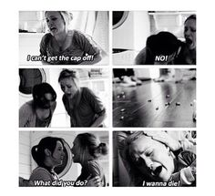 Cyberbully....I was crying during this part. Don't freakin bully people.