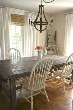 Inspiration Farmhouse Dinning Room Decor (48)