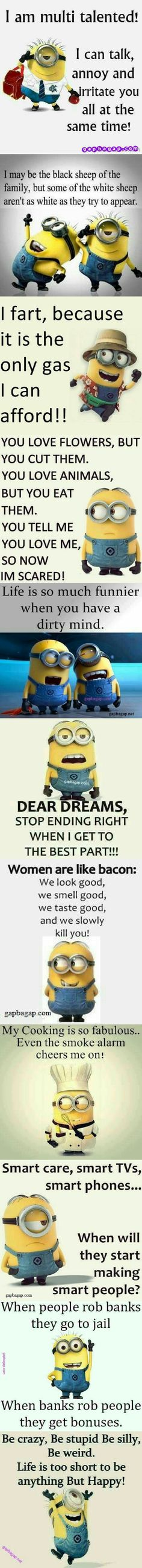Top 10 Funny Minion Quotes