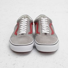 "Vans Old Skool ""Flint Grey/Chili Pepper"""