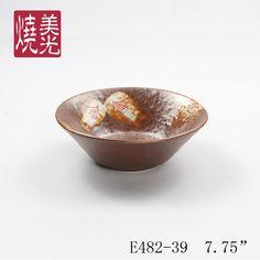 Japanese noodle bowl&porcelain bowl E482-39  Size: diameter 7.75 inch